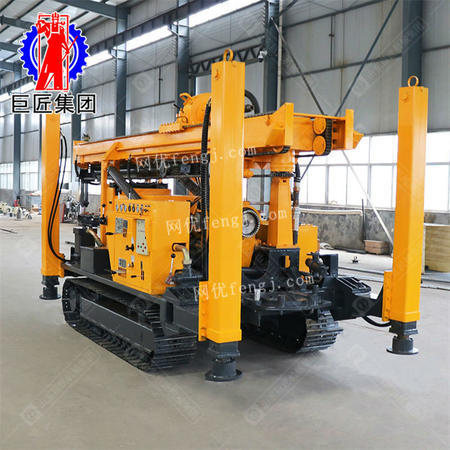400型履带式水气两用钻机 工程地质勘探钻机取芯速度快