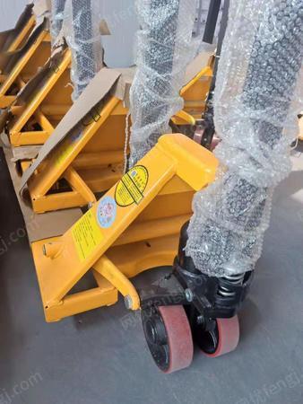 威海西林诺力低放型/加宽加长手动液压搬运车/非标地牛叉车定制