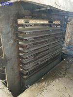 山东菏泽求购1台二手木工压机10层的