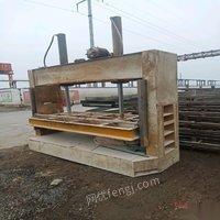 山东临沂出售木工冷压机一台正常使用 10000元