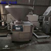 回收二手肉制品加工设备(斩拌机、滚揉机、包装机、夹层锅、杀菌锅)