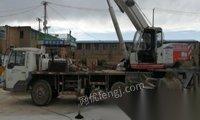 青海西宁改行便宜出售07年浦沅16吨吊车
