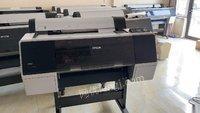 河南鹤壁转让爱普生大幅面晶瓷画打印机 8080 10000元