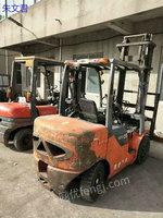 江苏常州出售2台二手叉车 瑞创3.5吨电议或面议