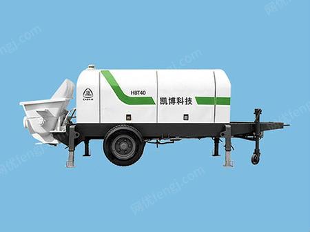供应混凝土输送泵 二次结构浇筑拖泵 HBT40泵