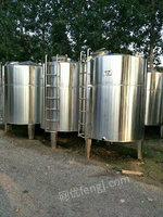 常年出售不锈钢储罐,不锈钢搅拌罐,型号齐全