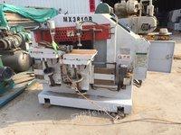 转让木工设备公榫母榫排钻刨砂机成色好价格低