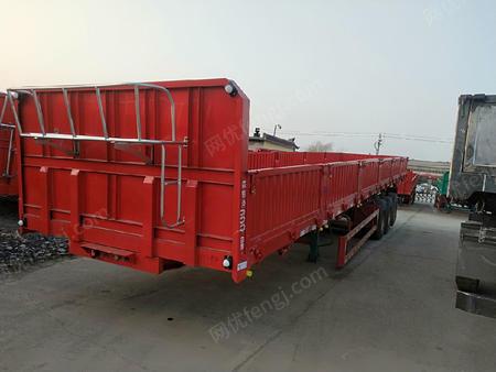 供应13米侧翻自卸半挂运输车