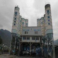 四川成都求購大品牌90攪拌站多套,100噸水泥罐