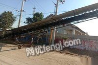 山东枣庄闲置15米皮带运输机1个 输送粮食用出售3500元