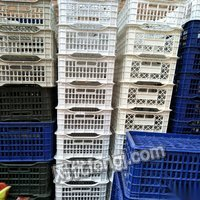 山西晉城大量閑置塑料筐銷售 現貨一百個,不定期有貨.