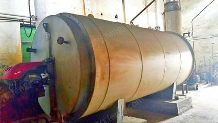 公司处理1300mm涂纸生产线一条,五辊涂布头,烘道及散热器,燃油热载体锅炉一个,8吨柴油罐1台