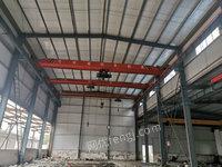 江苏泰州出售8台二手单梁行车5吨跨度13.5米