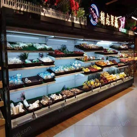 湖北荆州洪湖超市水果冷柜超市冷库出售