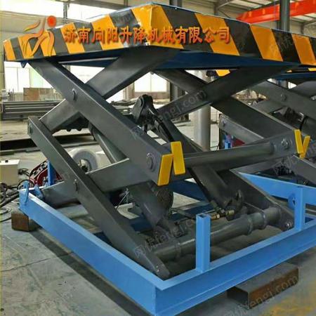 供应威海固定剪叉式升降机固定小型液压装卸台上车台