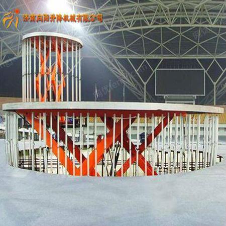 供应固定式升降舞台液压电动升降台小型舞台升降机