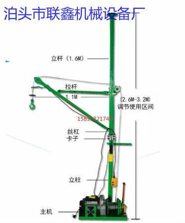 供应室内装修吊运机便携式小型吊机单住小吊机小窗口吊运机