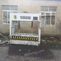 黑龙江哈尔滨出售铁人冷压机,马氏45度推台锯