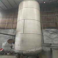 江苏徐州出售发酵罐7台,1.5立方3个,10立方
