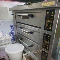 北京丰台区出售新麦电烤箱三门九排 18000元