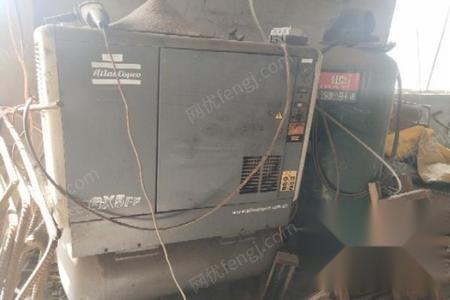 山东临沂空压机,私服送料机,料架,整平机出售