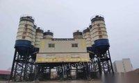 山東濟南轉讓二手三一中聯攪拌站各種型號水泥倉