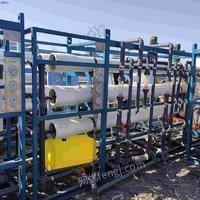 出售二手水处理反渗透设备 10吨单级水处理  双级反渗透设备