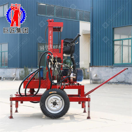 巨匠供应SJDY-3小型打井机械设备全自动打井机水井钻机