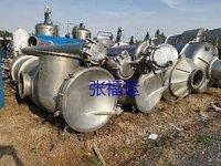 二手三效强制循环蒸发器二手不锈钢蒸发器
