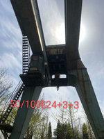 江苏泰州出售2台二手双梁行车50吨跨度16米电议或面议