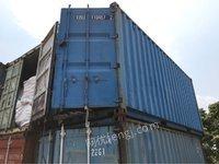 大量20尺二手海运集装箱出售