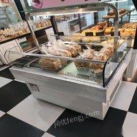 河北石家庄九成新蛋糕店全套设备 后厨前台 出售