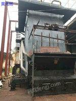 優惠轉讓一臺二手錫能25噸16公斤鏈條蒸汽鍋爐