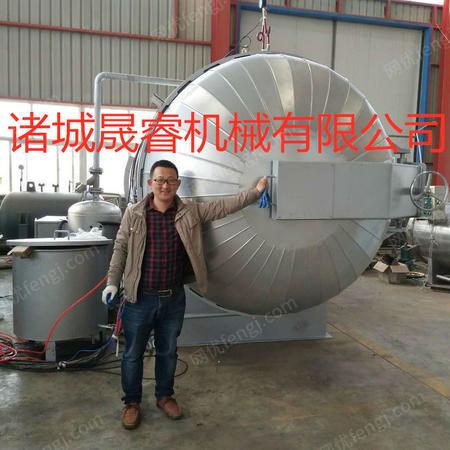 供应新型全自动木材碳化处理设备 山东木材高温炭化烘干杀菌
