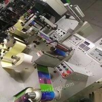 江苏苏州转让一台兆龙260全轮转,二手轮转机,不干胶轮转印刷机