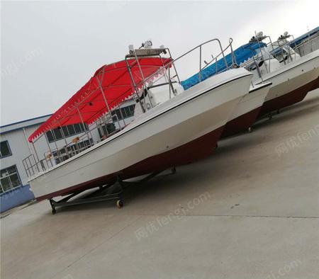 旅游观光10米船玻璃钢快艇厂家直销旅游船