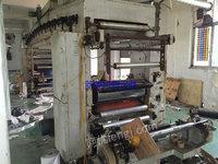 出售一台1.4米宽不干胶涂布复合机烘箱18米长