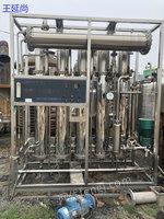 处理二手蒸馏水机 五效二手蒸馏水机