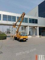 天津河西区转让17年江铃16米高空车车况良好正在使用