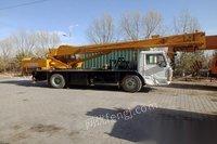 内蒙古巴彦淖尔转让06年柳工12吨吊车处理正常,价不高
