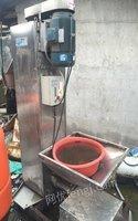 湖南长沙生意不好做,转让立式脱水机,塑料脱水机 8000元