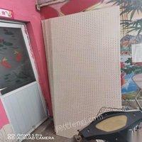 河南郑州因装修房间面积小货架板装修余货便宜处理