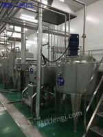 二手饮料厂项目转型急处理250ml每小时6000包广州铭慧灌装机出售