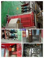 河南郑州出售1台15年山东威锐施工电梯高度84米
