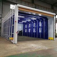 供应移动伸缩喷漆房结构特点及价格