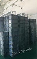北京順義區出售八成新塑料筐180個60x40x23 15元.貨架6組1.8米高的30元/組