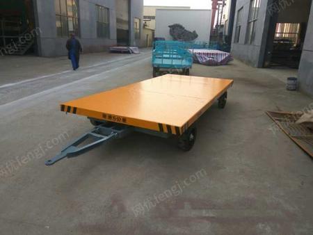 供应平板拖车价格-20T厂区平板拖车