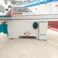 广东广州马氏木工机械90度精密推台锯转让,机械靓,大小锯正常使用