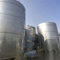 河北唐山出售二手发酵罐1吨-120吨,薄利多销