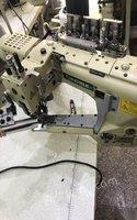 浙江金華自身原因就沒做出售9.9成四針六線拼縫機 9000元